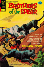 Brothers of the Spear (Gold Key - 1972) -15- The Phantom Leopards