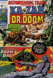 Astonishing tales Vol.1 (Marvel - 1970) -1- In the Clutches of Kraven the Hunter! / In the Shadow of--Doom's Day!