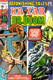 Astonishing tales Vol.1 (Marvel - 1970) -2- Ka-Zar Battles Kraven! / Our Master of Menace--At the Mercy of the Doomsman!