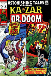 Astonishing tales Vol.1 (Marvel - 1970) -4- Jungle Lord vs: Sun God! / The Master of Menace--Alone Against the Deadliest Foe of All!
