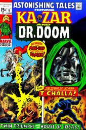 Astonishing tales Vol.1 (Marvel - 1970) -6- Beware the Man-God Men Call Damon!