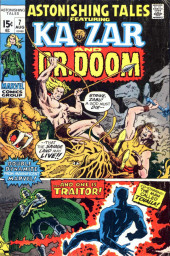 Astonishing tales Vol.1 (Marvel - 1970) -7- ...And One Is Traitor!