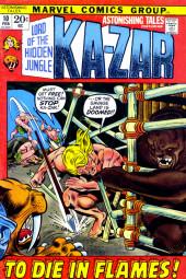 Astonishing tales Vol.1 (Marvel - 1970) -10- To Die In Flames!