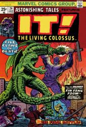Astonishing tales Vol.1 (Marvel - 1970) -24- It! : Five Claws of Death!