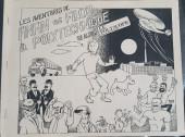 Tintin - Pastiches, parodies & pirates - Les Aventures de Finfin et Filou à Polytechnique