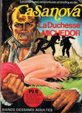 Casanova (Les Aventures amoureuses et érotiques de) -3- La Duchesse Michedor