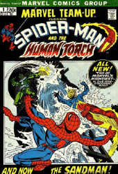 Marvel Team-Up Vol.1 (Marvel comics - 1972) -1- And Now... the Sandman!