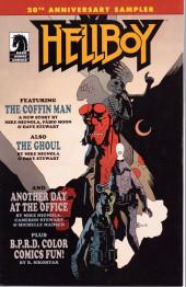 Hellboy (Dark Horse France) -HS- 20th anniversary sampler