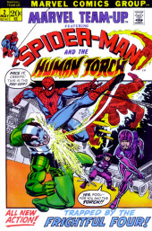 Marvel Team-Up Vol.1 (Marvel comics - 1972) -2- Trapped by the Frightful Four!
