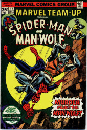Marvel Team-Up Vol.1 (Marvel comics - 1972) -37- Murder Means the Man-Wolf!