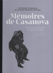 Les grands Classiques de la Bande Dessinée érotique - La Collection -98103- Mémoires de Casanova