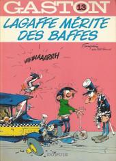 Gaston -13a1981- Lagaffe mérite des baffes