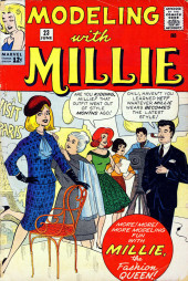 Modeling with Millie (Marvel Comics - 1963) -23- Millie, the Fashion Queen!