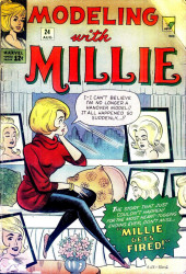 Modeling with Millie (Marvel Comics - 1963) -24- Millie Gets Fired!