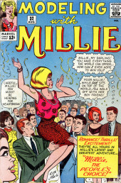 Modeling with Millie (Marvel Comics - 1963) -32- Millie, the People's Choice!