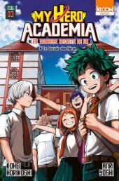 My Hero Academia -R03- Les Dossiers secrets de UA - 3 - Le dortoir des Héros
