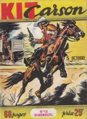 Kit Carson -13- Le chariot du