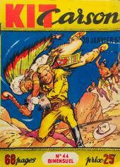 Kit Carson -44- Tempête dans le canyon du mustang