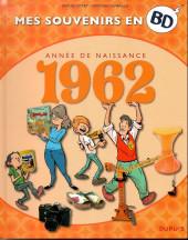 Mes souvenirs en BD -23- Année de naissance 1962