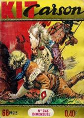 Kit Carson -246- le cheval sauvage