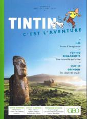 Tintin - Divers -Géo02- Tintin - C'est l'aventure - N° 2