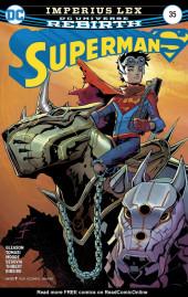 Superman (2016) -35- Imperius Lex Part 3: World Of Flame