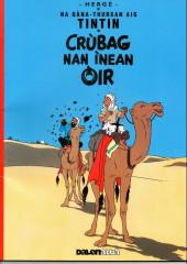 Tintin (en langues régionales) -9Gaélique i- Crùbag nan inean oir