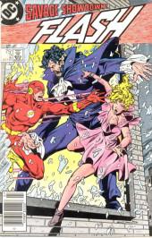 Flash (The) Vol.2 (DC comics - 1987) -2- Savage Showdown!