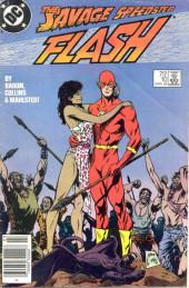 Flash (The) Vol.2 (DC comics - 1987) -10- The Savage Speedster