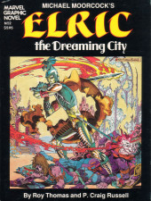 Marvel Graphic Novel (Marvel comics - 1982) -2- Elric: The Dreaming City