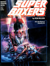 Marvel Graphic Novel (Marvel comics - 1982) -8- Super Boxers