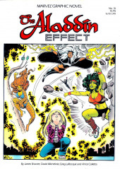 Marvel Graphic Novel (Marvel comics - 1982) -16- The Aladdin Effect