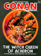 Marvel Graphic Novel (Marvel comics - 1982) -19- The Witch Queen of Acheron