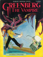 Marvel Graphic Novel (Marvel comics - 1982) -20- Greenberg The Vampire