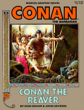 Marvel Graphic Novel (Marvel comics - 1982) -28- Conan the Reaver