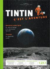 Tintin - Divers -Géo01- Tintin - C'est l'aventure - n° 1