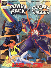 Marvel Graphic Novel (Marvel comics - 1982) -56- Power Pack & Cloak and Dagger: Shelter from the Storm