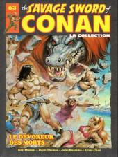 Savage Sword of Conan (The) (puis The Legend of Conan) - La Collection (Hachette) -63- Le dévoreur des morts