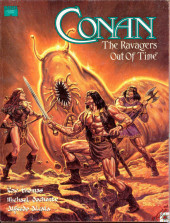 Marvel Graphic Novel (Marvel comics - 1982) -73- Conan: The Ravagers Out of Time