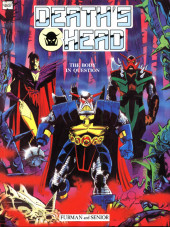 Marvel Graphic Novel (Marvel U.K - 1985) -2- Death's Head: The Body In Question