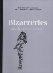 Les grands Classiques de la Bande Dessinée érotique - La Collection -100100- Bizarreries - Tome 3