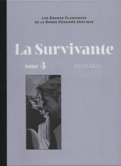 Les grands Classiques de la Bande Dessinée érotique - La Collection -101106- La Survivante - Tome 3