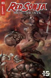 Red Sonja: Birth of the She Devil -3A- Issue # 3