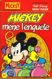 Mickey Parade (Suppl. Journal de Mickey) -66- Mickey mène l'enquête (1433 bis)
