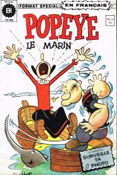 Popeye le marin (Éditions Héritage) -11- Champignon de mort !
