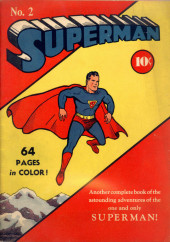 Couverture de Superman Vol.1 (DC comics - 1939) -2- Issue #2