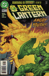 Green lantern (1990) -114- Burning In Effigy, part 2