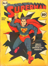 Superman (1939) -9- Issue #9