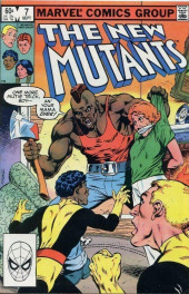 New Mutants (The) (1983) -7- Flying Down to Rio!