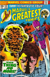 Marvel's Greatest Comics (Marvel - 1969) -60- The Thing No More!